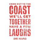 Die Hard Come To The Coast Women's Christmas T-Shirt - White