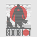 Valiant Bloodshot Women's Holiday T-Shirt - Grey