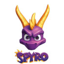 Spyro Face Sweatshirt - White