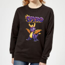 Spyro Full Women's Sweatshirt - Black
