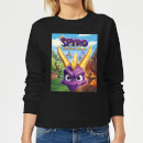 Spyro Face Scene Women's Sweatshirt - Black