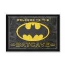 DC Comics Welcome To The Batcave Entrance Mat
