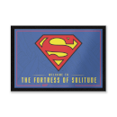 DC Comics Welcome To The Fortress Of Solitude Entrance Mat