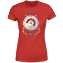 Elf Clausometer Women's Christmas T-Shirt - Red
