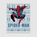 Marvel Spider-Man Women's Christmas T-Shirt - Grey
