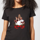 Star Wars Jedi Carols Women's Christmas T-Shirt - Black