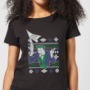 DC Joker Women's Christmas T-Shirt - Black