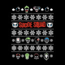 DC Suicide Squad Women's Christmas T-Shirt - Black