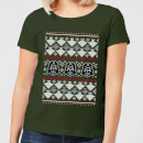 Star Wars Imperial Darth Vader Women's Christmas T-Shirt - Forest Green