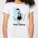 Mary Poppins Rooftop Landing Women's Christmas T-Shirt - White