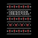 Marvel Deadpool Women's Christmas Sweatshirt - Black