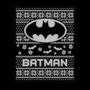 DC Batman Women's Christmas Sweatshirt - Black