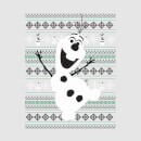Disney Frozen Olaf Dancing Women's Christmas Sweatshirt - Grey
