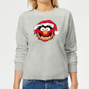 The Muppets Animal Women's Christmas Sweatshirt - Grey