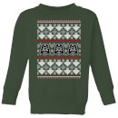 Star Wars Imperial Darth Vader Kids' Christmas Sweatshirt - Forest Green