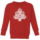 Marvel Shields Snowflakes Kids' Christmas Sweatshirt - Red