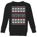 Star Wars Imperial Darth Vader Kids' Christmas Sweatshirt - Black