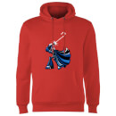 Star Wars Candy Cane Darth Vader Christmas Hoodie - Red