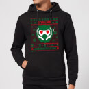Guardians Of The Galaxy Star-Lord Pattern Christmas Hoodie - Black