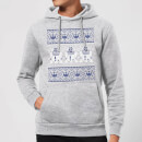 Star Wars R2-D2 Knit Christmas Hoodie - Grey