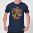 Looney Tunes Its Christmas Baby Men's Christmas T-Shirt - Navy