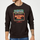 National Lampoon No Vacancy Christmas Sweatshirt - Black