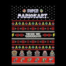 Nintendo Mario Kart Here We Go Women's Christmas Sweatshirt - Black