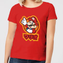 Nintendo Super Mario Kanji Women's T-Shirt - Red