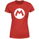 Nintendo Super Mario Logo Women's T-Shirt - Red