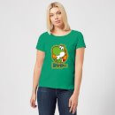 Nintendo Super Mario Yoshi Kanji Women's T-Shirt - Kelly Green