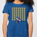 Nintendo Super Mario Coin Drop Women's T-Shirt - Royal Blue