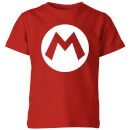 Nintendo Super Mario Logo Kid's T-Shirt - Red
