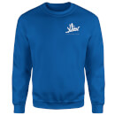 How Ridiculous XLIV Script Pocket Sweatshirt - Royal Blue