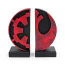 Serre-livres Gentle Giant – Star Wars – logo de l'Empire/de l'Alliance Rebelle 15 cm