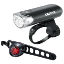 Cateye Front EL135 and Rear Orb LED Lightset