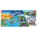 New Super Mario Bros. U Deluxe + Pin Badge Set + Poster Map