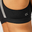 Calvin Klein Performance Women's Racerback Sports Bra - CK Black