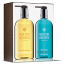 Molton Brown Lemon & Mandarin and Blue Maquis Hand Wash Set