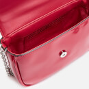 Armani Exchange Women's Patent Small Cross Body Bag - Red