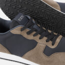 Tod's Men's Casual Low Top Trainers - Brown/Black
