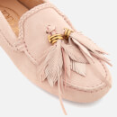 3bfcb407c3a Tod s Women s Gommino Feather Moccasin Shoes - Glove - Free UK ...