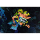 NECA Crash Bandicoot Deluxe Scuba Crash 7 Inch Action Figure