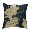 Game of Thrones Cushion - Westeros Map