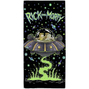 Rick & Morty Spaceship Towel