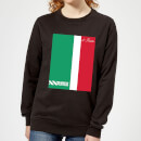 Summit Finish Pantani Il Pirata Women's Sweatshirt - Black