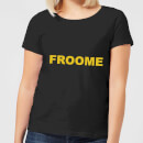 Summit Finish Froome - Rider Name Women's T-Shirt - Black