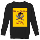 Summit Finish Pantani The Pirate Kids' Sweatshirt - Black