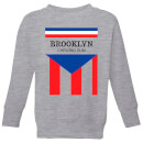 Summit Finish Brooklyn Chewing Gum Kids' Sweatshirt - Grey