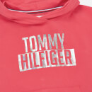 Tommy Hilfiger Girls' Essential Logo Hoodie - Teaberry