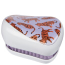 Tangle Teezer x Skinny Dip Compact Styler Detangling Hair Brush - Trendy Tiger